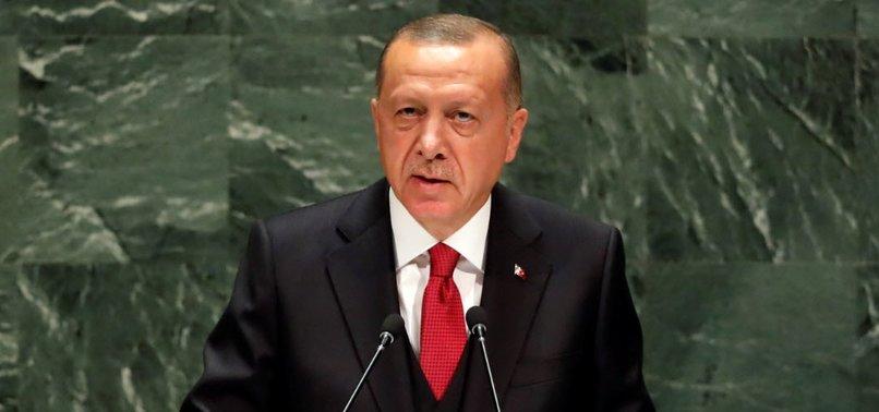PEACE CORRIDOR WILL SOLVE SYRIA MIGRANT CRISIS, ERDOĞAN TELLS UN GENERAL ASSEMBLY