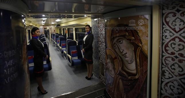 Serbia halts 'provocative' train heading to Kosovo