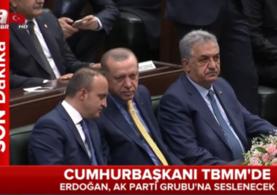 Cumhurbaşkanı Recep Tayyip Erdoğan Ak Parti Grup toplantısında konuştu