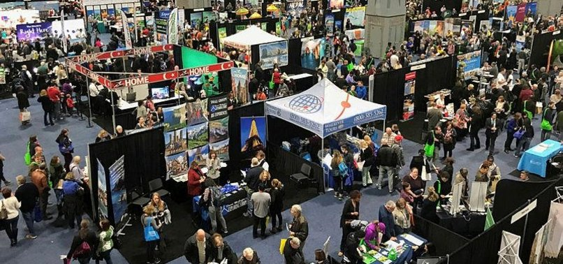 AMERICANS FLOCKS TO TURKISH STANDS AT TRAVEL SHOW