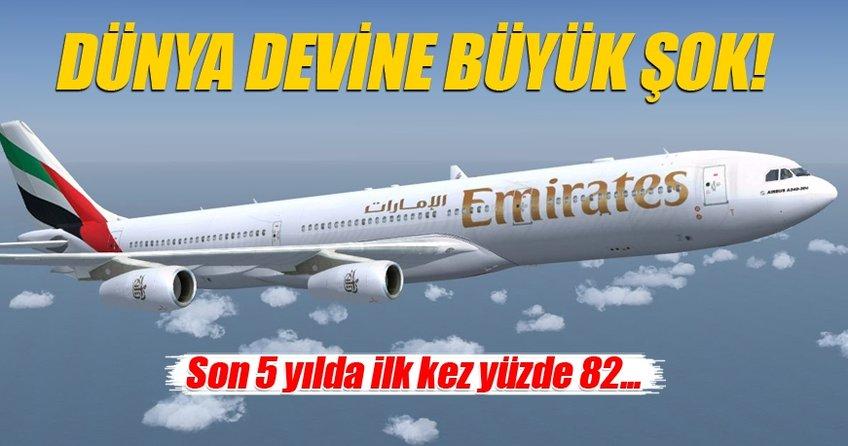 Emirates'in kârı son 5 yılda yüzde 82 düştü