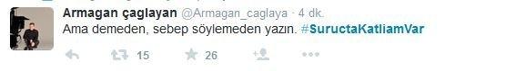 Suruç'taki patlamaya Twitter'dan tepkiler