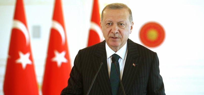 TURKEY HOPES TO REACH STRONG GROWTH RATES DESPITE COVID-19 PANDEMIC: ERDOĞAN