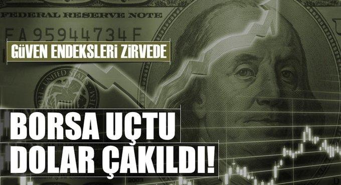 Ekonomi yükseliyor dolar düşüyor