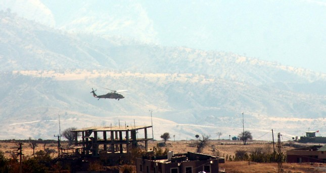 94 PKK terrorists killed in Turkey over past week