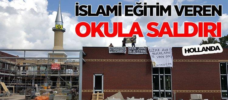 Hollanda'da İslami eğitim veren okula saldırı