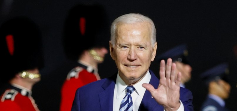 BIDEN WARNS RUSSIAS PRESIDENT ON HIS FIRST VISIT ABROAD