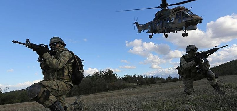 6 PKK TERRORISTS NEUTRALIZED IN SOUTHEASTERN TURKEY