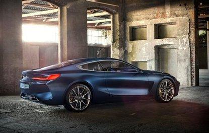 2017 BMW 8 serisi konsepti