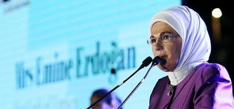 TURKEYS FIRST LADY SLAMS VIOLENCE AGAINST WOMEN