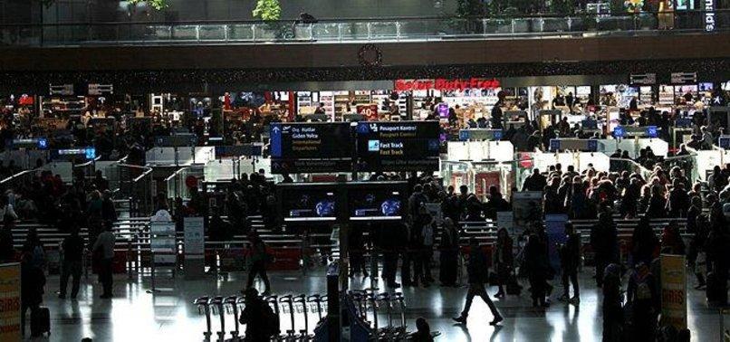 TURKEYS AIRPORTS HIT 12-YEAR-RECORD