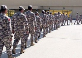 Türk askeri Katar'a giriş yaptı!