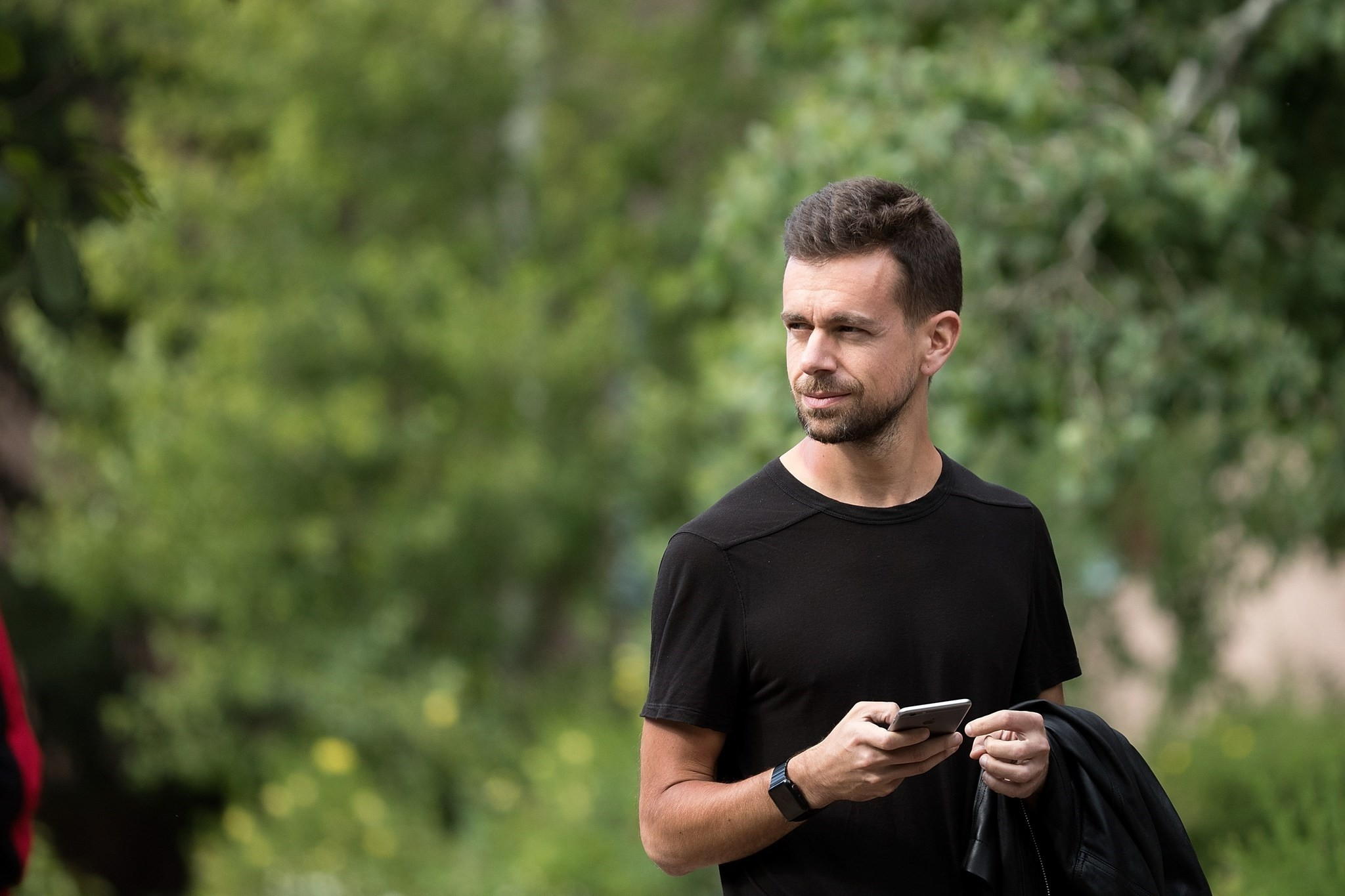 Jack Dorsey, co-founder and chief executive officer of Twitter, attends the annual Allen & Company Sun Valley Conference, July 6, 2016. (AFP Photo)