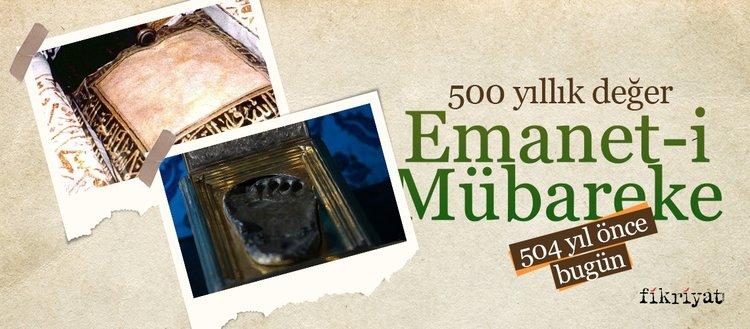500 yıllık değer: Emanet-i Mübareke
