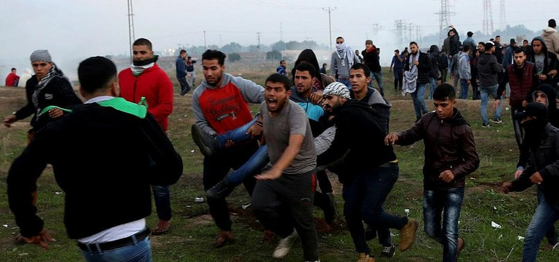 PALESTINIANS INJURED IN FRIDAY CLASHES WITH ISRAEL ARMY