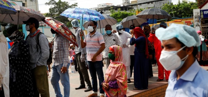 BANGLADESH REPORTS SPIKE IN CORONAVIRUS FATALITIES