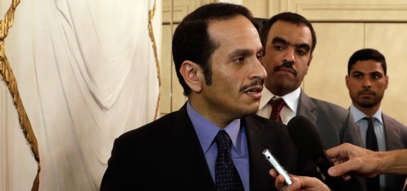 QATARS TOP DIPLOMAT HERALDS A NEW INITIATIVE TO END GULF CRISIS
