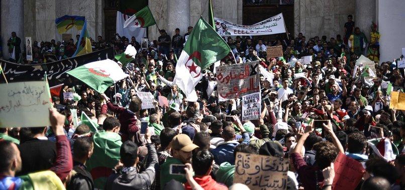 HUNDREDS OF THOUSANDS OF ALGERIANS CALL FOR BOUTEFLIKAS RESIGNATION