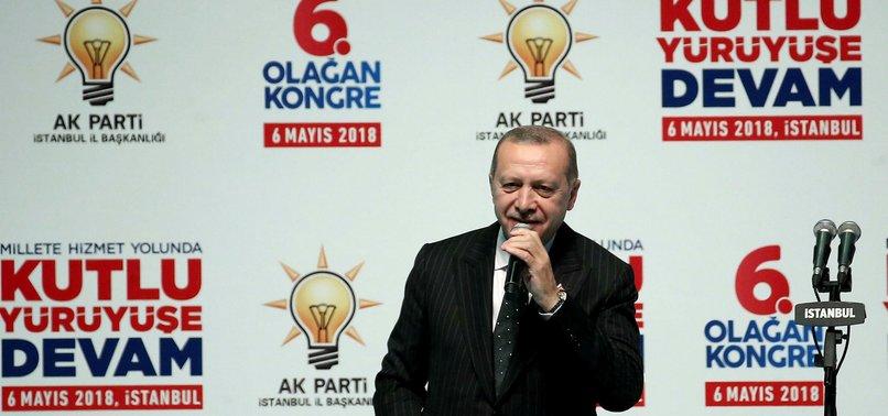 TURKEY HAS NEVER GIVEN UP ON GOAL OF JOINING EUROPEAN UNION, ERDOĞAN SAYS
