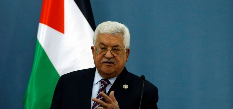 MAHMOUD ABBAS BLASTS US SUPPORT FOR ISRAELS LAWLESSNESS