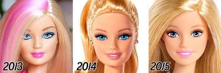 Barbie'nin 56 yıllık evrimi