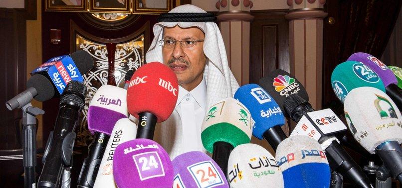 SAUDI ARABIAS OIL SUPPLY FULLY BACK ONLINE -ENERGY MINISTER