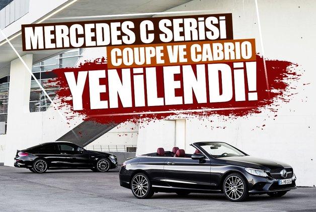 Mercedes C Serisi Coupe ve Cabrio yenilendi