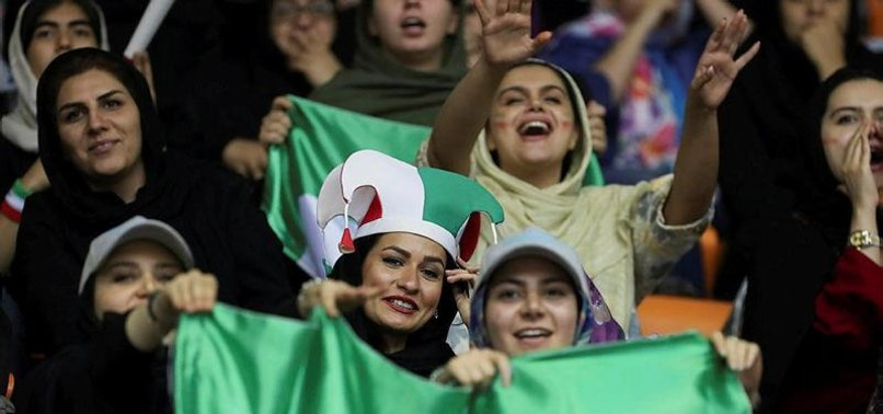 FIFA ORDERS IRAN TO ALLOW WOMEN FREE ACCESS TO FOOTBALL STADIUMS