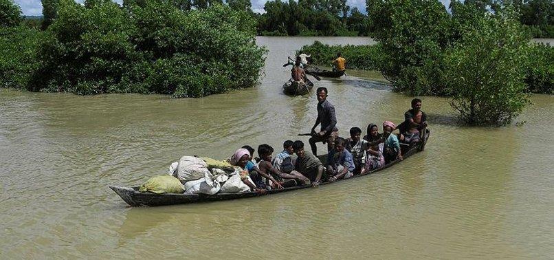 48 ROHINGYA ARRESTED OFF MYANMAR COAST