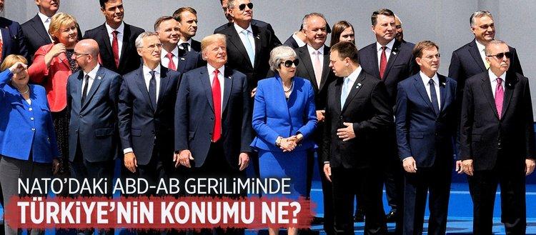 NATO'daki ABD- AB geriliminde Türkiye'nin konumu ne?