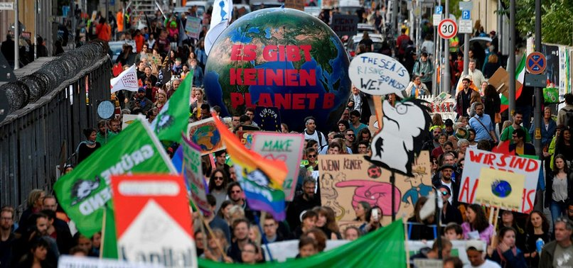 SAVE OUR FUTURE: STRIKING STUDENTS DEMAND GLOBAL CLIMATE ACTION