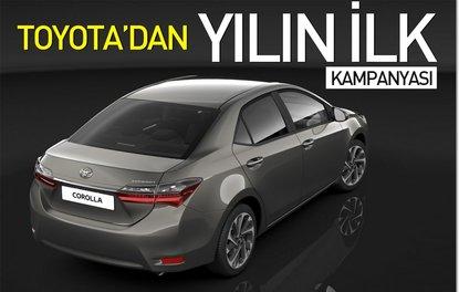 Toyota'dan yeni yılın ilk kampanyası