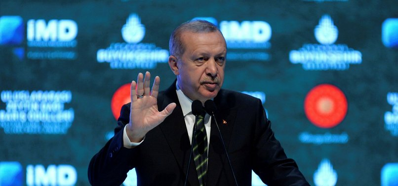 PRESIDENT ERDOĞAN CHASTISES APATHY OF INTERNATIONAL COMMUNITY FOR PALESTINE