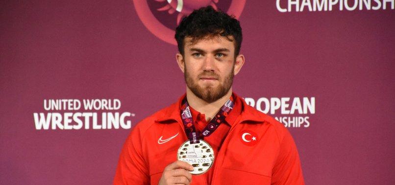 TURKISH WRESTLER KARADENIZ BECOMES EUROPEAN CHAMPION