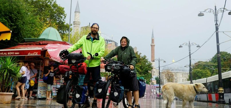 GLOBETROTTER CYCLISTS READY TO TRAVEL TURKEY