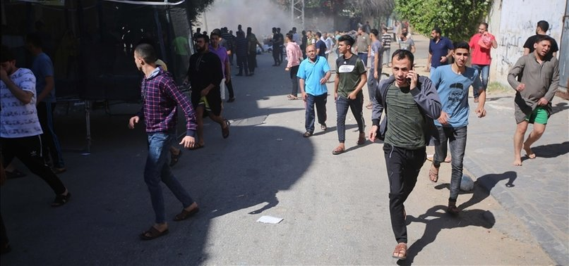 UN: HOSTILITIES FORCED 10,000 PALESTINIANS TO LEAVE HOMES IN GAZA