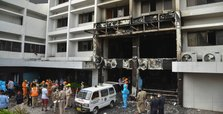 Fire kills 7 at COVID facility in southern India