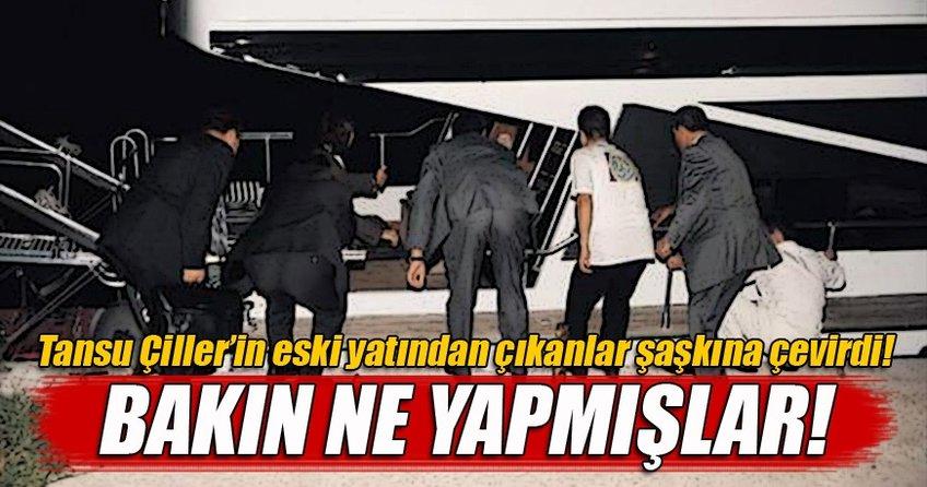 Çiller'in sattığı yatta 134 kaçak göçmen yakalandı