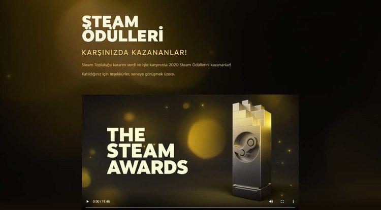 Steam 2020 Oyun Ödülleri sahiplerini buldu