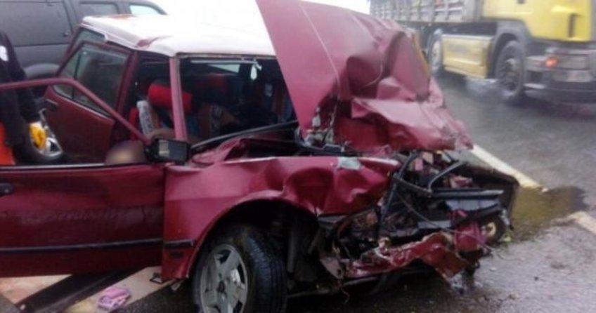 Feci kaza: Zigana Tüneli çıkışında 2 ölü, 1 yaralı