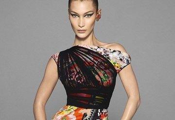Bella Hadid ve Irina Shayk Versace için kamera karşısında