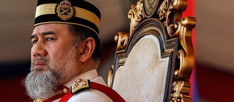 Malezya Kralı Sultan V. Muhammed tahtını bıraktı
