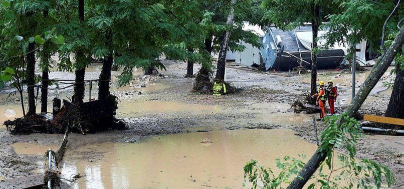 1,600 EVACUATED AS FLASH FLOODS THREATEN FRENCH CAMPSITES