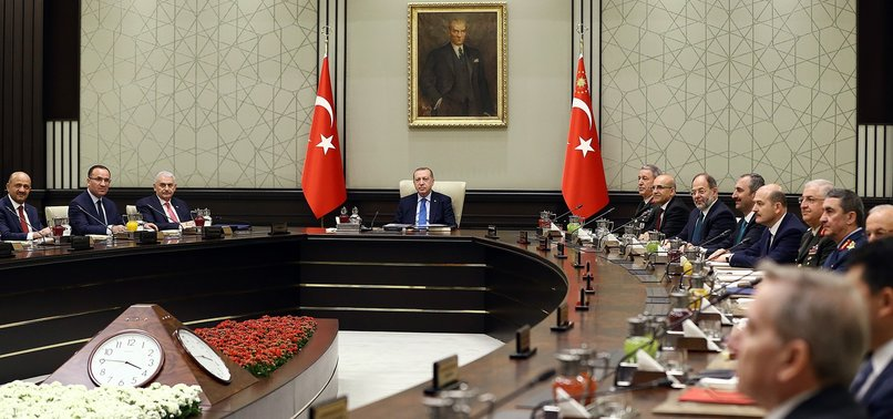 TURKEYS TOP SECURITY BODY RECOMMENDS EXTENDING STATE OF EMERGENCY