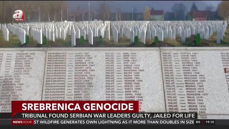Tribunal found Serbian war leaders guilty, jailed for life