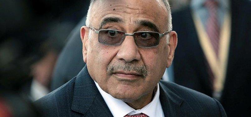 IRAQI PRIME MINISTER SEEKS TO END US-IRAN TENSION