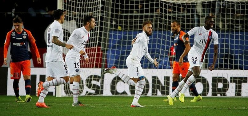 ATTACKING TRIO LEAD PSG TO WIN OVER MONTPELLIER