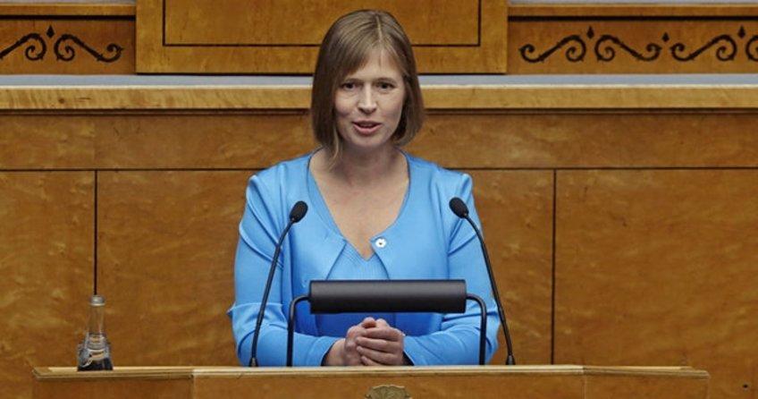 Estonya'da yeni cumhurbaşkanı göreve başladı