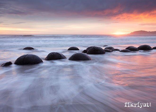Moeraki Kayaları, Yeni Zelenda