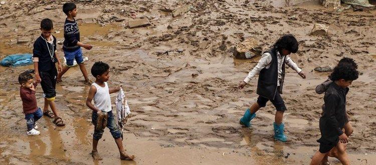 Yemen'deki sel nedeniyle 174 kişi hayatını kaybetti